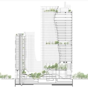Marina One Architect Drawing