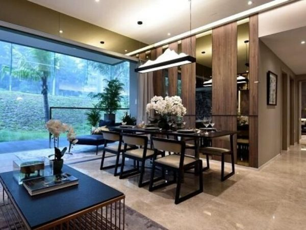 The Woodleigh Residences Dinning