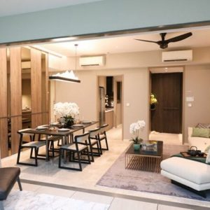 The Woodleigh Residences Living