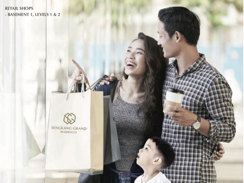 Sengkang Grand Residences Retail Shops